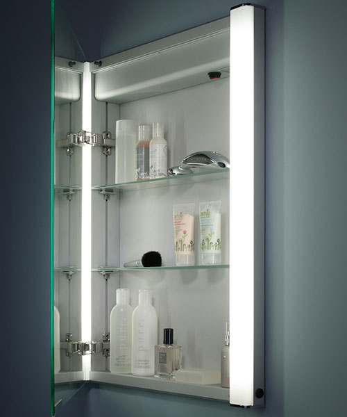 Additional image of Roper Rhodes Ascension Illusion Single Mirror Glass Door Cabinet