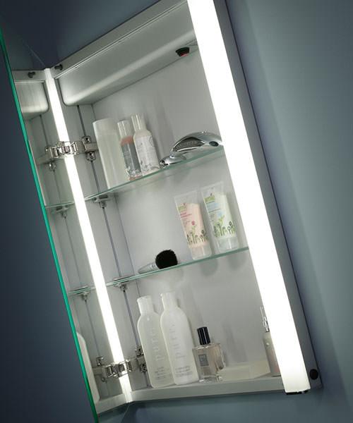 Alternate image of Roper Rhodes Ascension Illusion Single Mirror Glass Door Cabinet