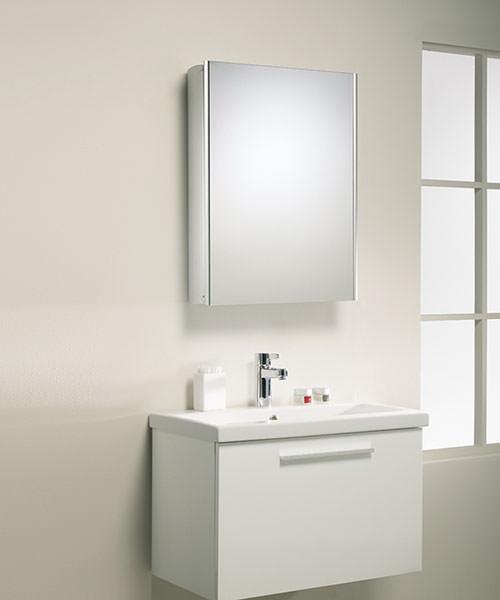 Additional image of Roper Rhodes Ascension Equinox Single Door Bathroom Cabinet