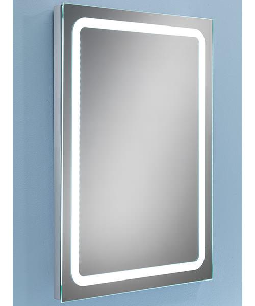 Alternate image of HIB Scarlet Steam Free LED Back-Lit Bathroom Mirror 800 x 600mm