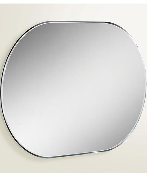 Alternate image of HIB Jessica Landscape Or Portrait Lozenge Shaped Mirror 400 x 600mm
