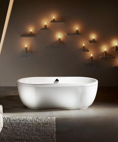 kaldewei mega duo oval 184 double ended steel bath 1800 x 900mm. Black Bedroom Furniture Sets. Home Design Ideas