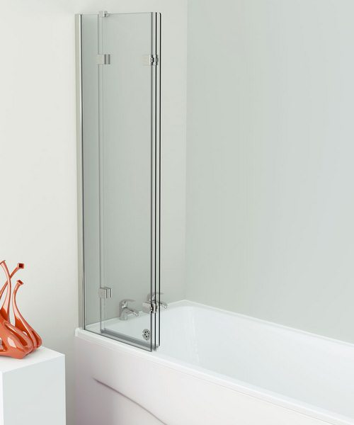 Additional image of Kudos Inspire 1250 x 1500mm 3 Panel In-Fold Bath Screen