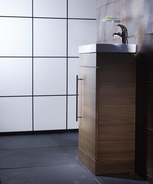 Additional image of Roper Rhodes Esta Floorstanding Walnut Wash Unit And Ceramic Basin