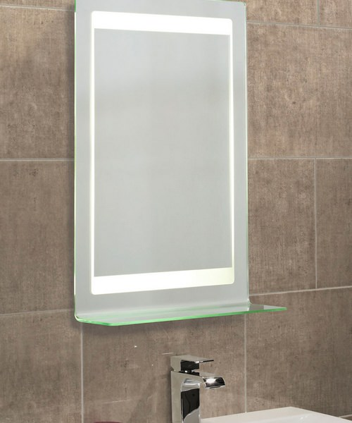 Additional image of Roper Rhodes Clarity Gamma Backlit Mirror With Recharging Socket