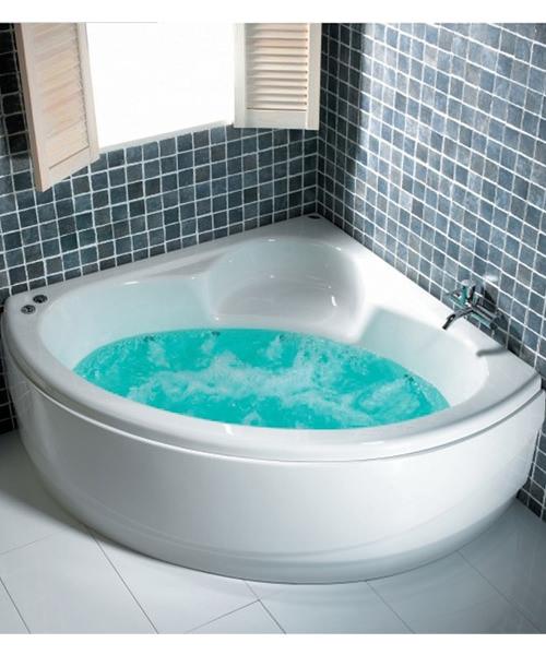 Additional image of Carron Oriole 5mm Acrylic Corner Bath 1200 x 1200mm