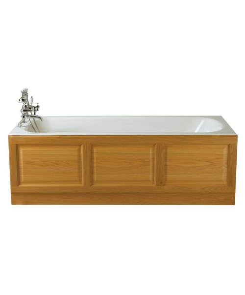 Additional image of Heritage Sutherland Standard Cast Iron Bath 1700 x 750mm