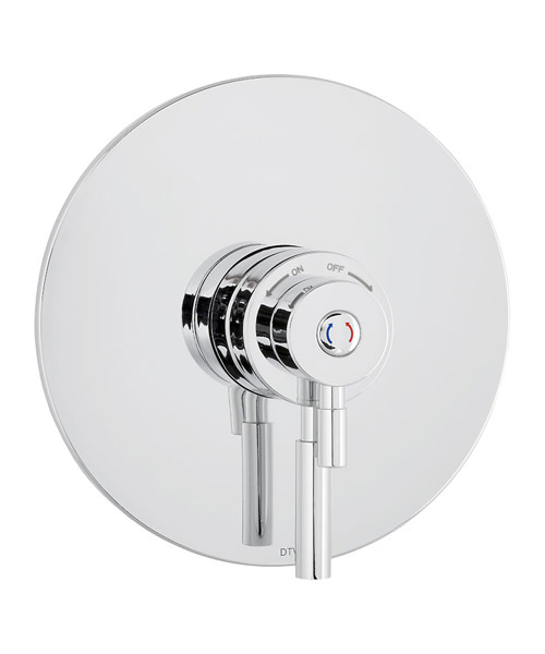Additional image of Deva Vision Concentric Thermostatic Shower Valve With 5 Function Kit