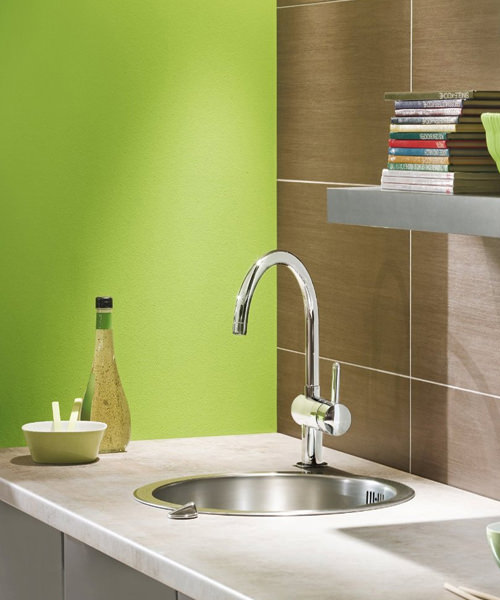 Additional image of Grohe Minta Sink Mixer Tap With Swivel Spout
