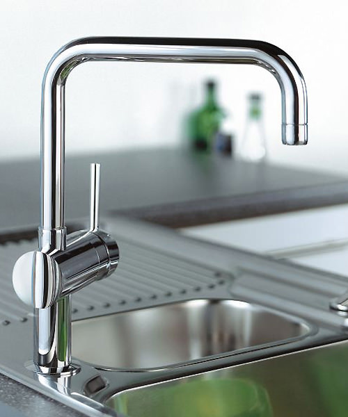 Additional image of Grohe Minta Sink Mixer Tap With Square Spout