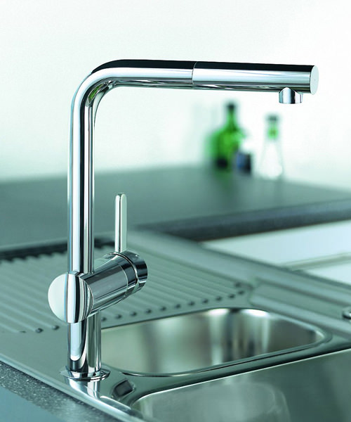 Additional image of Grohe Minta Sink Tap With Pull Out Spout Extractable Mousseur