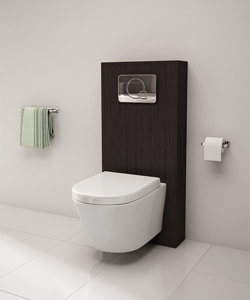 photos of white bathrooms pura arco wall hung wc pan and soft seat 520mm 19959