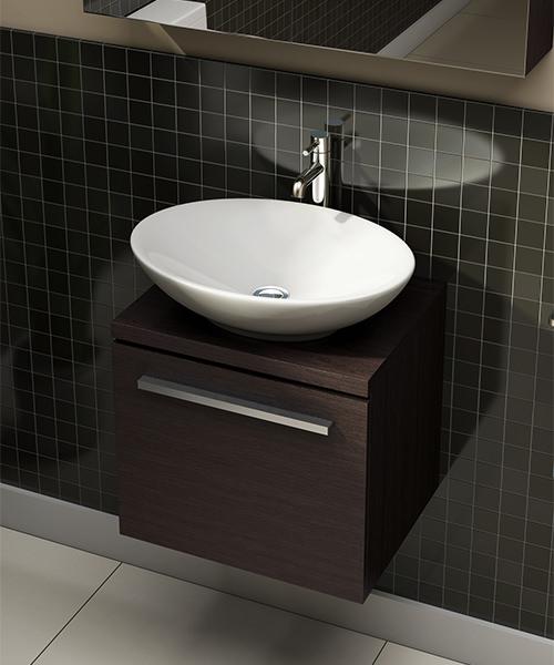 Additional image of Pura Fyori 500mm Elliptical Bathroom Sink