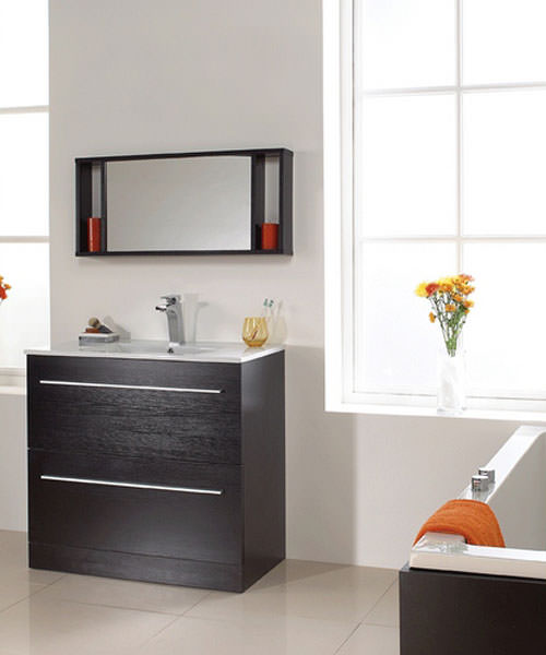 Alternate image of Phoenix Zola Floor Standing Vanity Unit And Basin 840 x 900mm