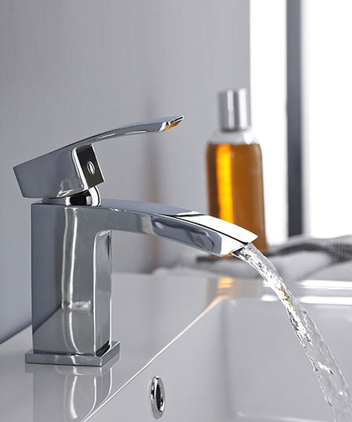 Additional image of Lauren Sinclair Midi Mono Basin Mixer Tap