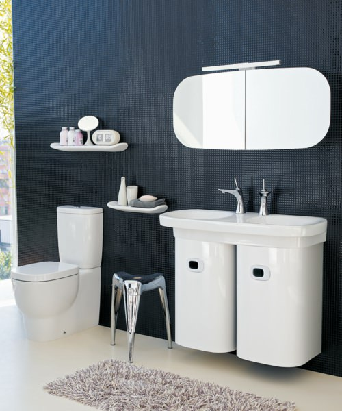Additional image of Laufen Mimo Undersurface Ground Double Washbasin 1000 x 440mm