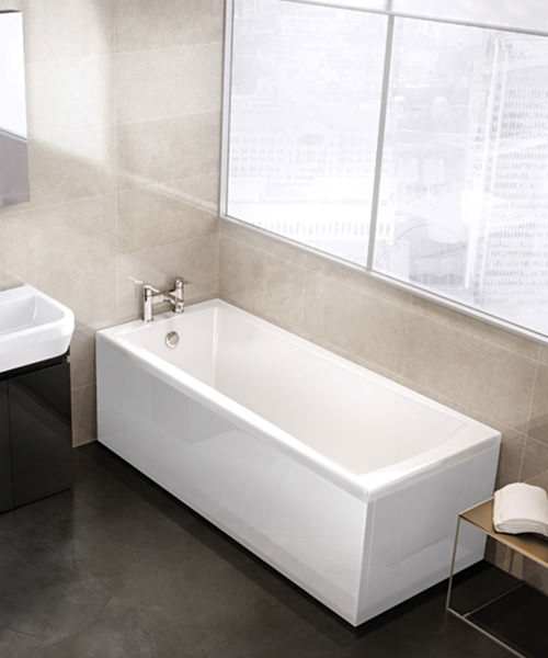 Additional image of Cleargreen Sustain Single Ended Rectangular Bath 1700 x 700mm