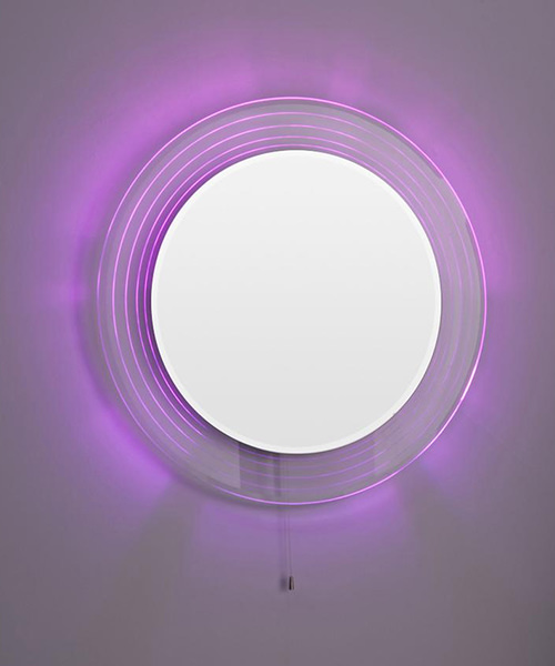 Additional image of Lauren Orpheus 600mm Round Colour Change LED Mirror