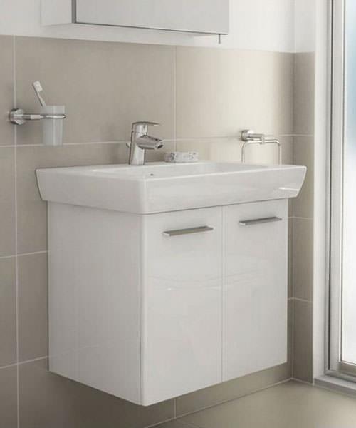 Additional image of VitrA S20 65cm Vanity Unit And Basin White