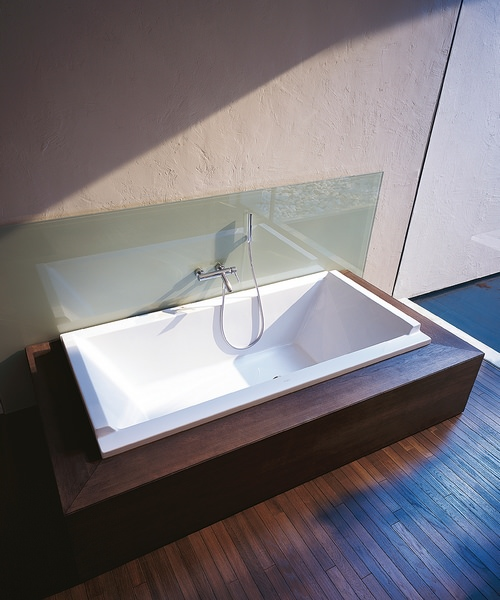 Additional image of Duravit Starck 1800 x 900 x 460mm Double Ended Built-In Bath