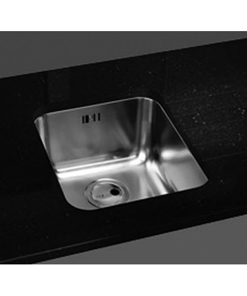 Additional image of Abode Matrix R50 1.0 Bowl Stainless Steel Kitchen Sink