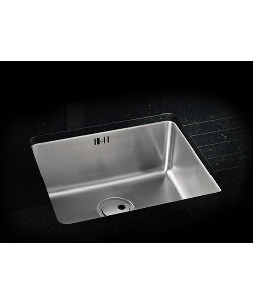 Additional image of Abode Matrix R25 Stainless Steel Large Bowl 1.0 Kitchen Sink