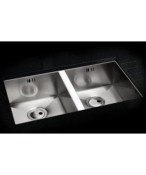 Additional image of Abode Matrix R0 2.0 Bowl Stainless Steel Kitchen Sink