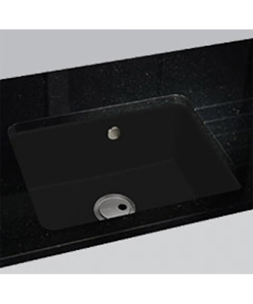 Additional image of Abode Matrix GR10 Black Granite Single Bowl Kitchen Sink