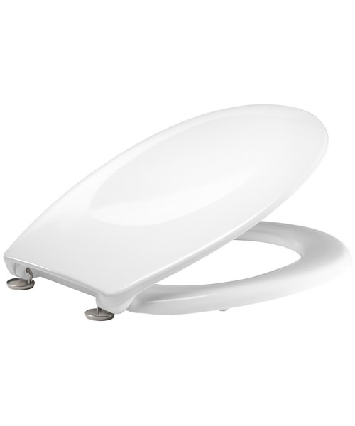 Alternate image of Tavistock Verve Thermoset Toilet Seat With Swivel Hinges