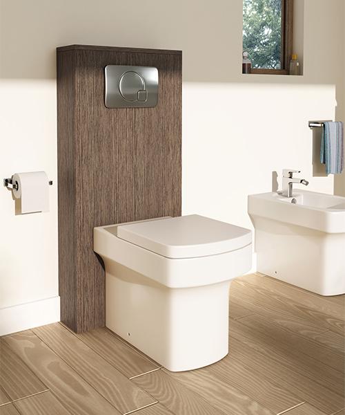 Additional image of Pura Dekka Back-To-Wall WC Pan And Soft Close Seat 540mm
