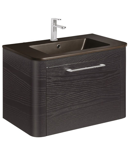 Alternate image of Bauhaus Celeste 800mm Single Drawer Basin Unit