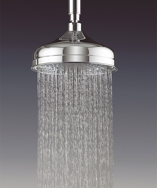 Additional image of Crosswater Belgravia Chrome 200mm Fixed Shower Head