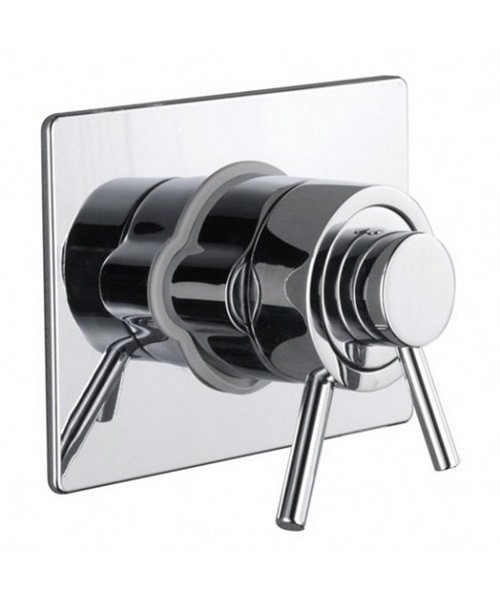 Additional image of Bristan Prism Thermostatic Surface Mounted Shower Valve
