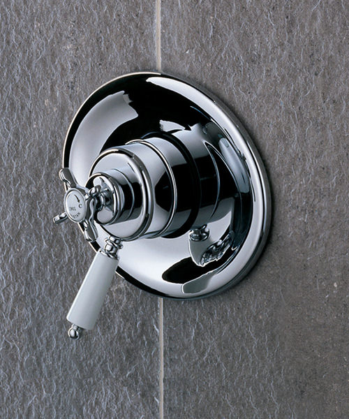 Additional image of Bristan 1901 Thermostatic Surface Mounted Shower Valve Chrome