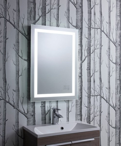 Alternate image of Roper Rhodes Encore 500mm Illuminated Bluetooth Mirror Portrait