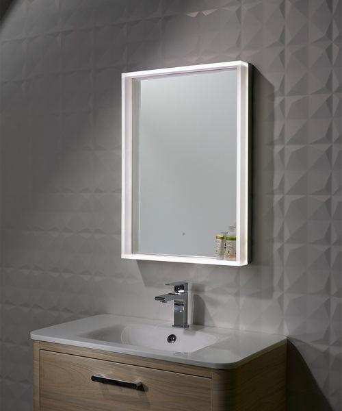 Alternate image of Roper Rhodes Aura Framed Edged Illuminated 500mm Mirror Portrait