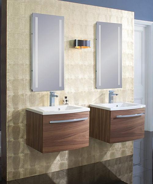 Bauhaus Elite Back Lit Illuminated LED Mirror
