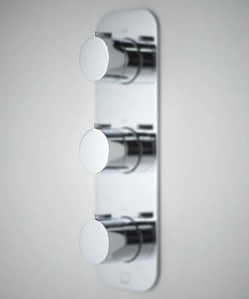 Vado Tablet Altitude Vertical 3 Outlet Thermostatic Shower