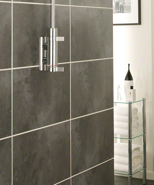 Additional image of Mira Miniluxe ER Thermostatic Mixer Shower With Deluge Showerhead