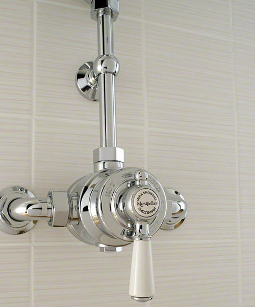 Additional image of Mira Montpellier Thermostatic Mixer Shower With 6 Inch Deluge Head