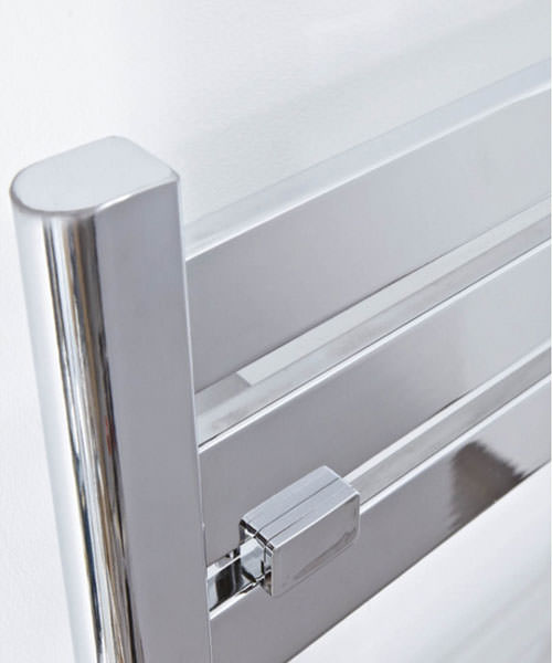 Additional image of Phoenix Ascot Chrome 500 x 1600mm Designer Radiator
