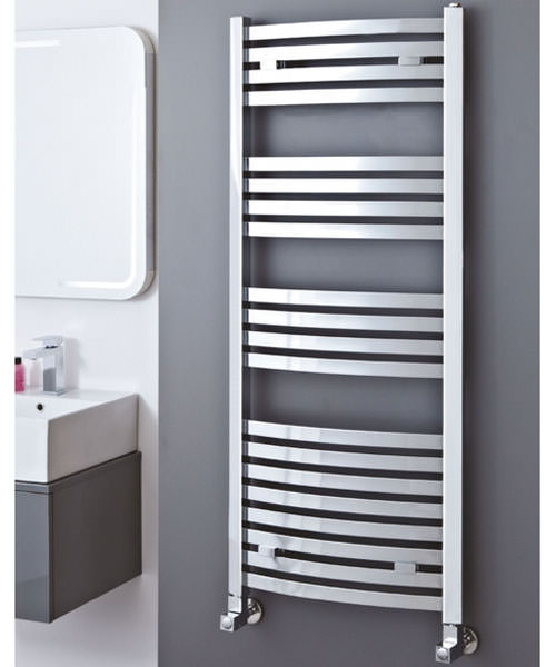 Additional image of Phoenix Rochell Curved 500 x 1200mm Designer Radiator