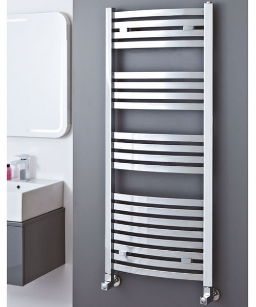 Additional image of Phoenix Rochell Curved 500 x 1800mm Designer Radiator