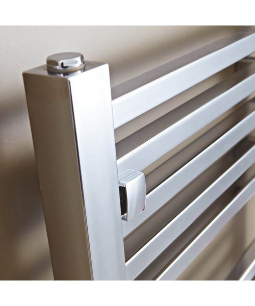 Additional image of Phoenix Sophia Chrome 500 x 800mm Designer Radiator