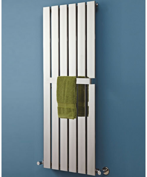 Additional image of Phoenix Orla Designer Radiator 300 x 1200mm Chrome