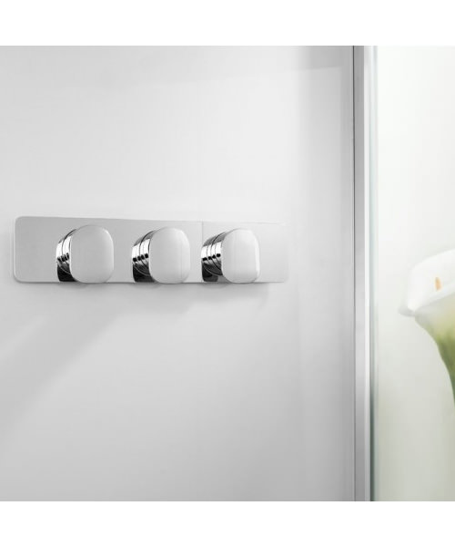 Additional image of Crosswater Kelly Hoppen Zero 2 Thermostatic 3 Control Landscape Valve