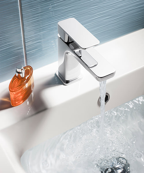 Additional image of Crosswater Atoll Monobloc Chrome Basin Mixer Tap
