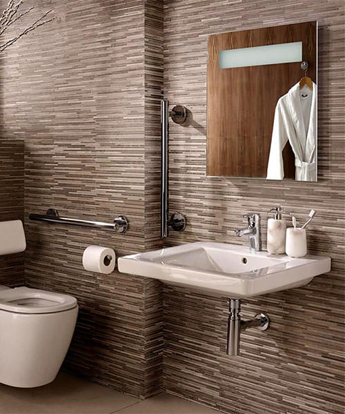 Additional image of Ideal Standard Concept Freedom Wall Hung Elongated Rimless WC Pan 760mm