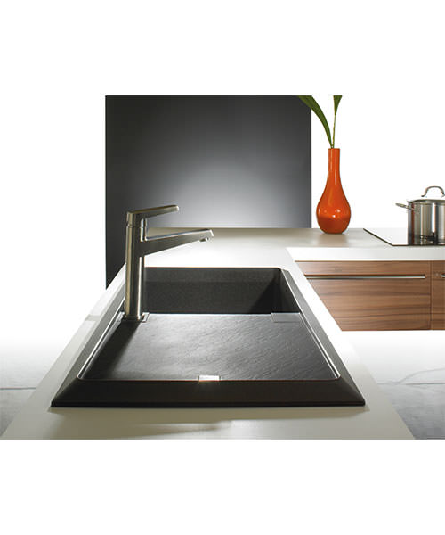 Additional image of Astracast Contour Composite ROK TEX Inset Sink And Tap Pack - 1.0 Bowl
