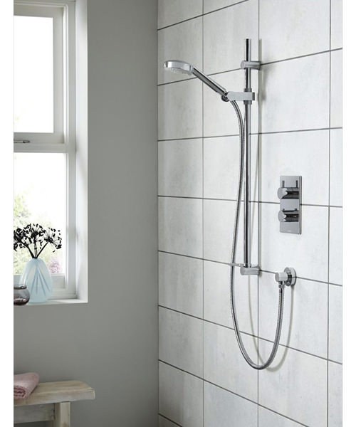 Additional image of Aqualisa Dream DCV Concealed Mixer Shower With Adjustable Head - HP Combi
